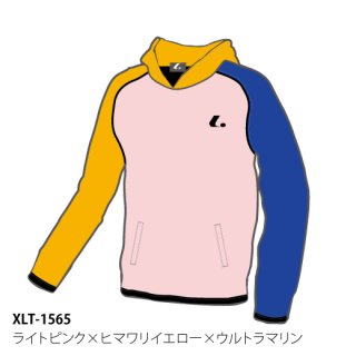 <img class='new_mark_img1' src='https://img.shop-pro.jp/img/new/icons6.gif' style='border:none;display:inline;margin:0px;padding:0px;width:auto;' />Uni クレイジーパーカー(ライトピンク×ヒマワリイエロー×ウルトラマリン) XLT1565