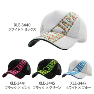 <img class='new_mark_img1' src='https://img.shop-pro.jp/img/new/icons13.gif' style='border:none;display:inline;margin:0px;padding:0px;width:auto;' />ALL JAPAN キャップ XLE344