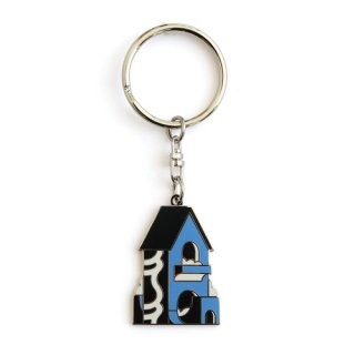 KAMI / KEY RING / Black×Blue