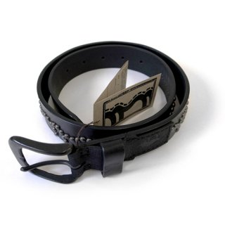 KAMI / LEATHER STUDS BELT