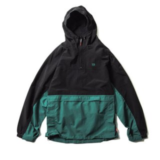 Tightbooth / ANORAK PARKA / Black×Green