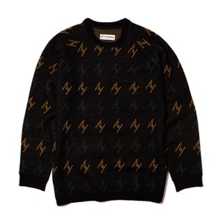 EVISEN / ヱKNIT SWEATER / BLACK