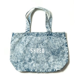 SHRED / SHRED LOGO DENIM TOTE / 2 Color