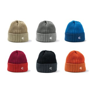 EVISEN / COTTON 2TONE KNIT CAP / 2 Color