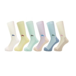 <img class='new_mark_img1' src='//img.shop-pro.jp/img/new/icons1.gif' style='border:none;display:inline;margin:0px;padding:0px;width:auto;' />WHIMSY / EMJAY SOCKS / 6 Color