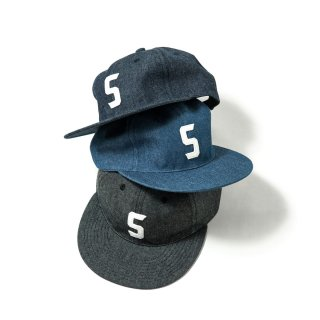 SHRED / S LOGO DENIM 6PANEL