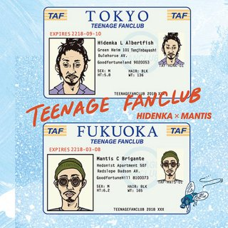 <img class='new_mark_img1' src='//img.shop-pro.jp/img/new/icons1.gif' style='border:none;display:inline;margin:0px;padding:0px;width:auto;' />HIDENKA × MANTIS / TEENAGE FANCLUB