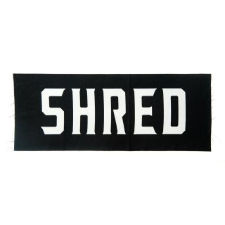 SHRED LOGO TENUGUI