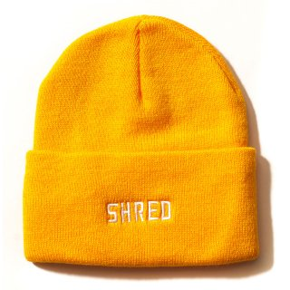 SHRED LOGO BEANIE 8color