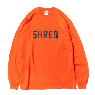 SHRED LOGO L/S 3color