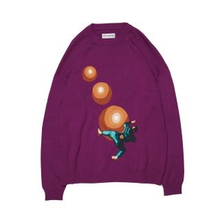 EVISEN / TAKESHI'S COTTON KNIT SWEATER