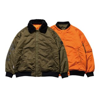 EVISEN / HOT SHOTS! REVERSIBLE FLIGHT JKT