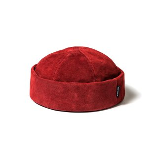 TIGHTBOOTH / SUEDE ROLL CAP Wine