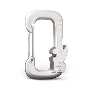 CHROME / GRIFFIN CARABINER