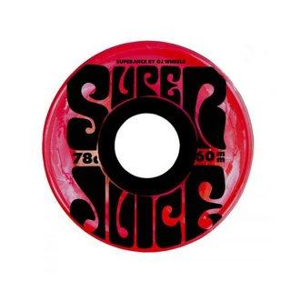 OJ WHEEL - SUPER JUICE Trans Red 60mm 78a