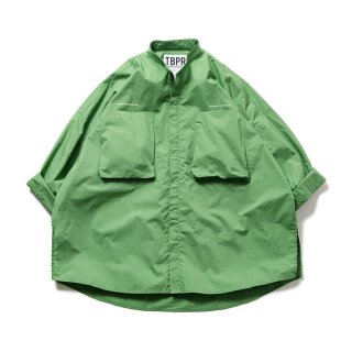 Tightbooth BAND COLLAR BIG SHIRT