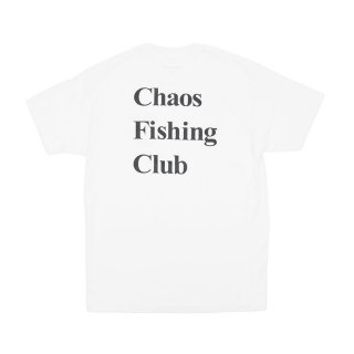 Chaos Fishing Club - LOGO - White