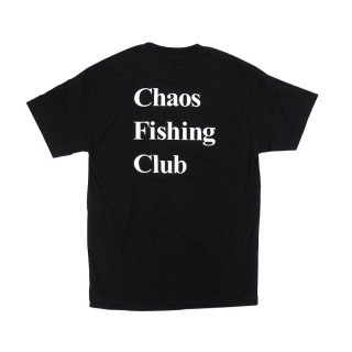 Chaos Fishing Club - LOGO - Black