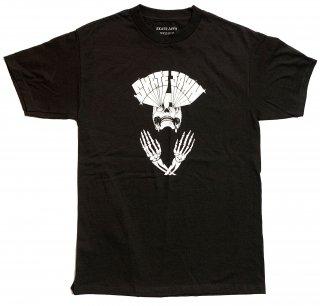 SKATE JAWN - Lazer Skull Tee - Black