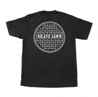 SKATE JAWN - Sewercap Tee - Black