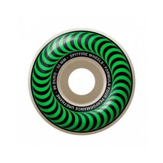 SPITFIRE - FORMULA FOUR CLASSICS 99DU 52mm GREEN