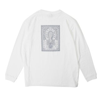 AREth - Stamp L/S T-Shirts - White