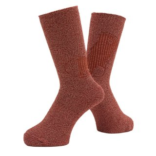WHIMSY - EMBOSS SOCKS - RED
