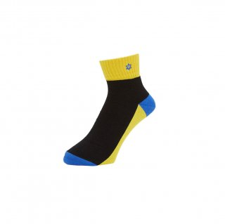 WHIMSY - VERSE KIDS SOCKS - YELLOW