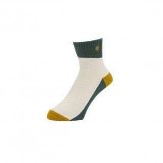 WHIMSY - VERSE KIDS SOCKS - GREEN