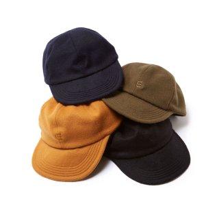 EVISEN E LOGO WOOL CAP