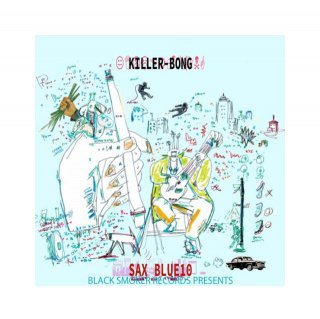 KILLER-BONG - SAX BLUE 10
