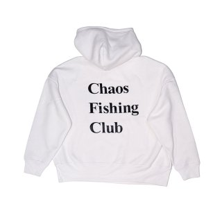 Chaos Fishing Club - OG LOGO HOODIE - White