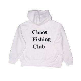 Chaos Fishing Club - OG LOGO HOODIE - White