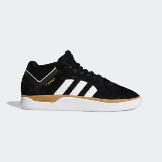 adidas - TYSHAWN - Black & White & Gum