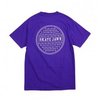 SKATE JAWN - Sewercap Tee - Purple