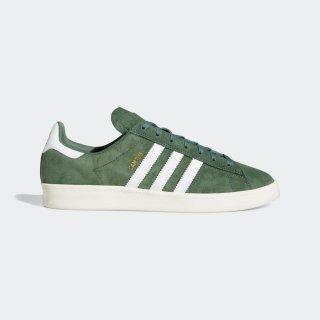 adidas - CAMPUS ADV - Green & White