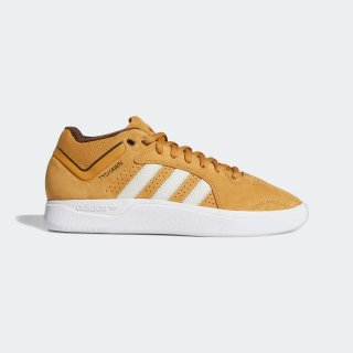 adidas - TYSHAWN - Mesa & Chalk White & Derk Brown