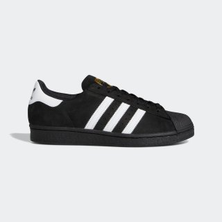 adidas - SUPERSTAR - Black & White & Gold