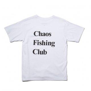 Chaos Fishing Club - OG LOGO TEE - White