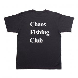 Chaos Fishing Club - OG LOGO TEE - Black