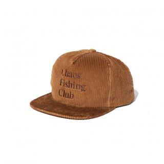 Chaos Fishing Club - LOGO CORDUROY CAP - Brown