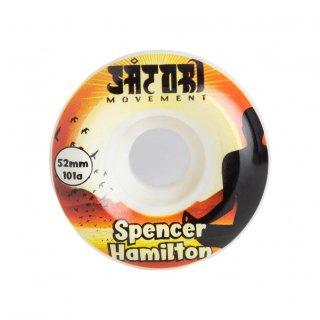 SATORI WHEELS - Spencer Hamilton 52mm 101A