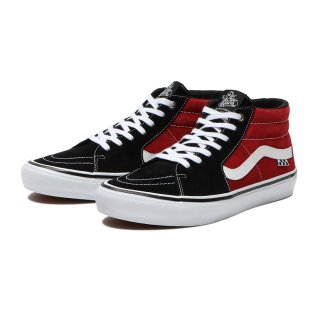 VANS - Skate Grosso Mid - Black/Red