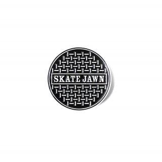 SKATE JAWN - SEWERCAP METAL ENAMElL PIN