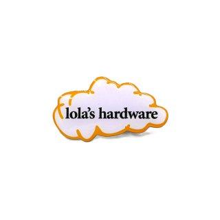 LOLA'S Hardware - Original Logo Pin Badge