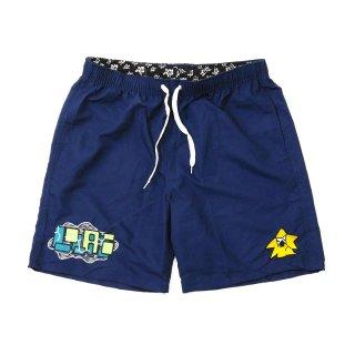 LOLA'S Hardware - Shintaro Collaboration Beach Shorts - Navy