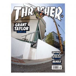 Thrasher Magazine July 2021 Issue #492