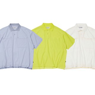 EVISEN -  DRY WIDE POLO SHIRT