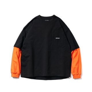 TIGHTBOOTH - LAYERED L/S T-SHIRT