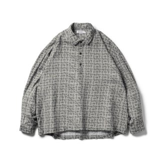 TIGHTBOOTH - MAD COW FOOTPRINT PULLOVER SHIRT